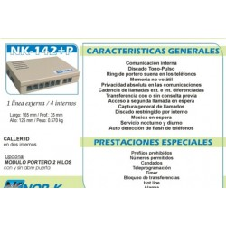 Central Telefonica NOR-K NK-142+P