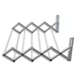 Tender de pared extensible 80 cm con 9 varillas