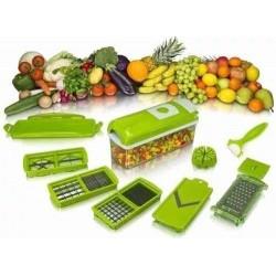Mandolina 11 En 1 Pica Raya Rebana Cortadora Verduras Frutas