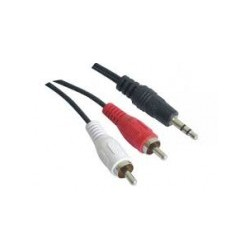Cable 3,5 ST a 2 RCA
